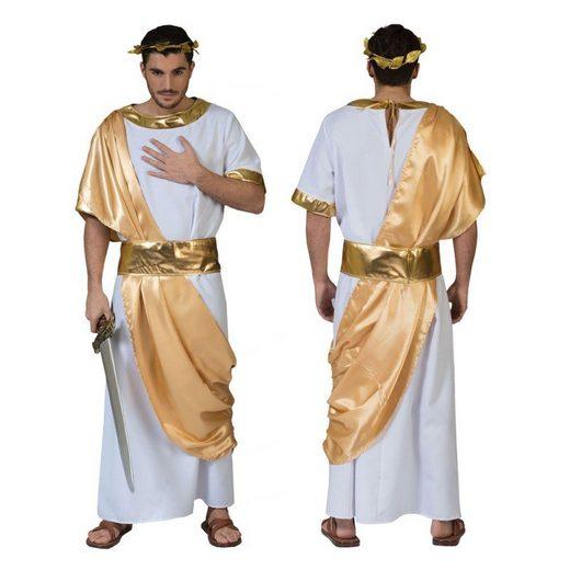 Antike Gottheit Herrenkostüm weiß-gold