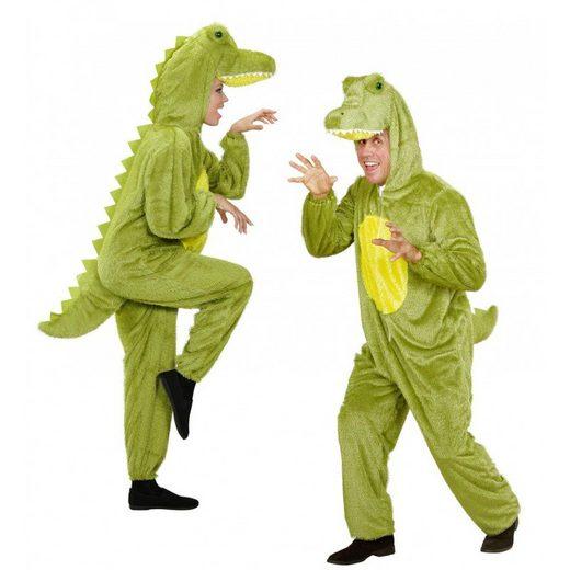Krokodil Plüschkostüm Overall