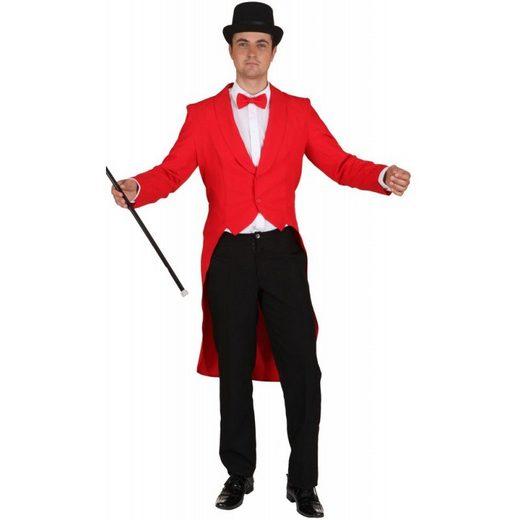 Herren Frack Klassik rot