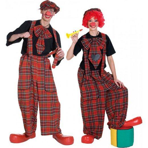 Clown Latzhose für Herren und Damen