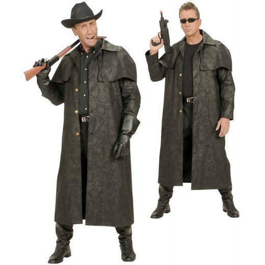 Cowboy Western Mantel schwarz