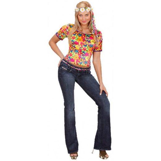 Flower Power Shirt für Damen