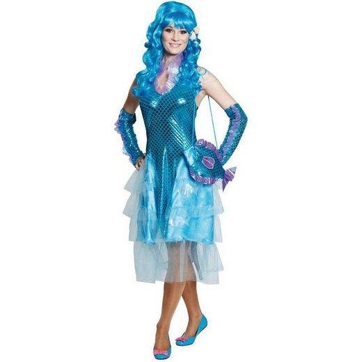 Mermaid Meerjungfrau Damenkostüm