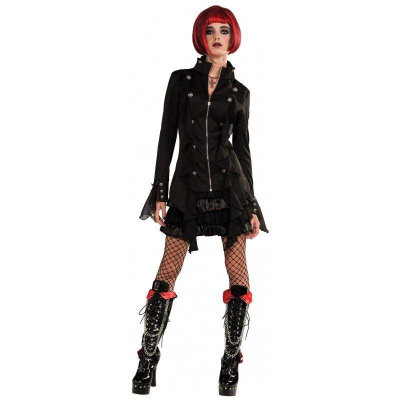Neo-Goth Vampir Kostüm für Damen
