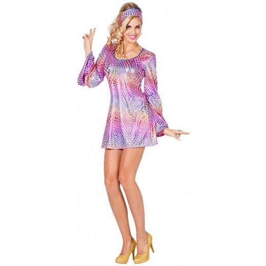 Psychedelic Disco Hippie Kostüm Jessy