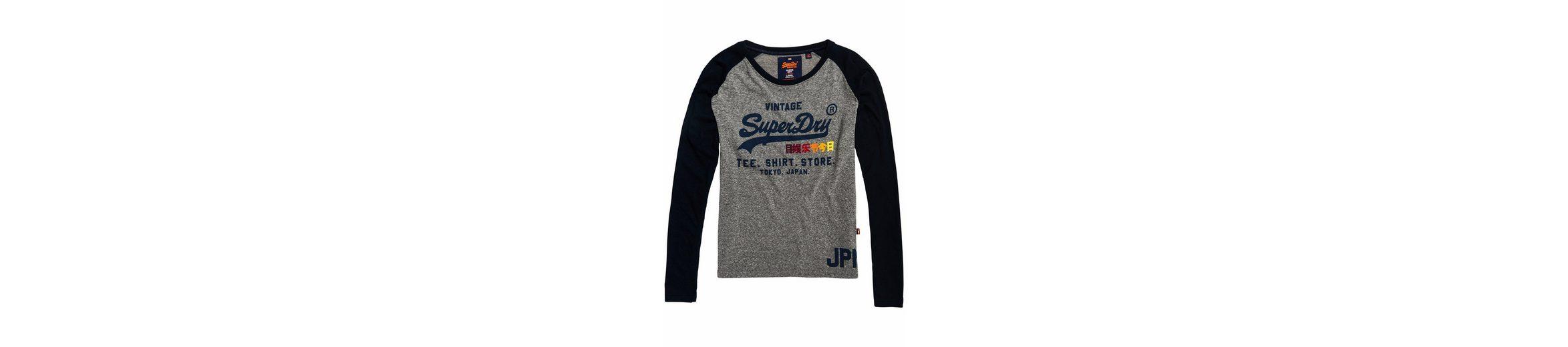 Superdry Langarmshirt SHIRT SHOP SURF RAGLAN L/S TEE Kaufen Sie Günstig Online Shop Für Verkauf Outlet Neueste Rabatt Exklusiv Billig Store bI2RM