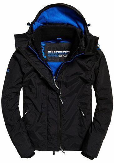 Superdry Windbreaker Pop Zip Hood Arctic Wndcheater