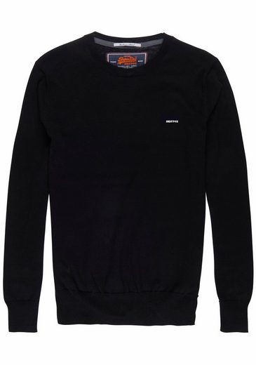 Superdry Rundhalspullover ORANGE LABEL CREW