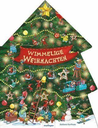 Buch mit Papp-Einband »Wimmelige Weihnachten«