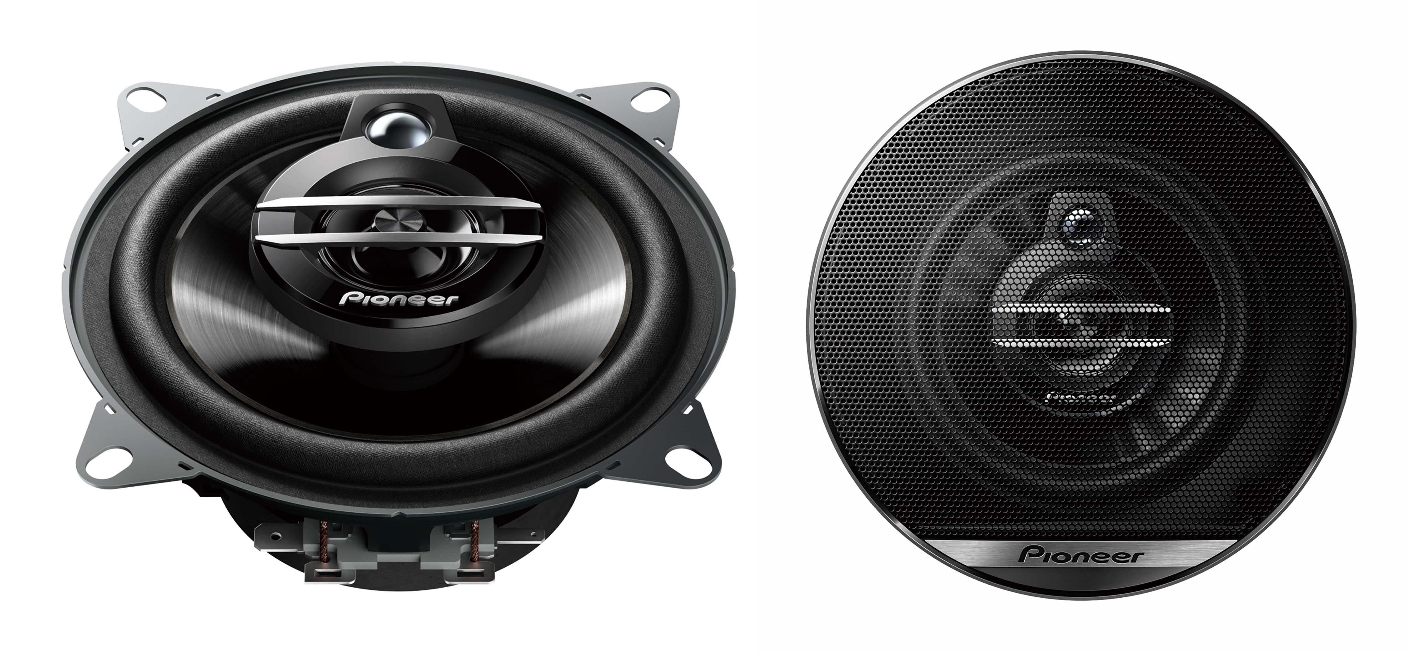 PIONEER (Paar) 10 cm Car-HiFi 3-Weg Koaxiallautsprecher (210 W) »TS-G1030F«