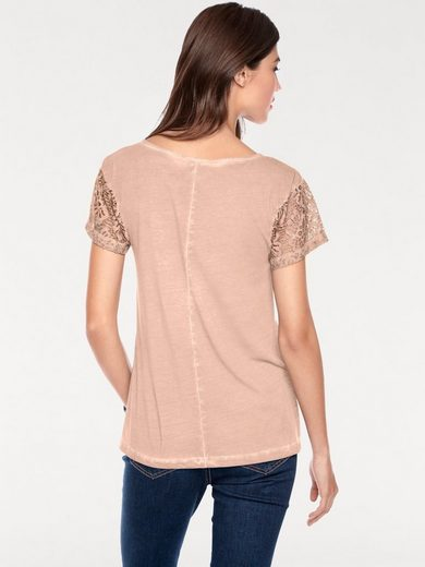 LINEA TESINI by Heine Shirt Mit Stickerei