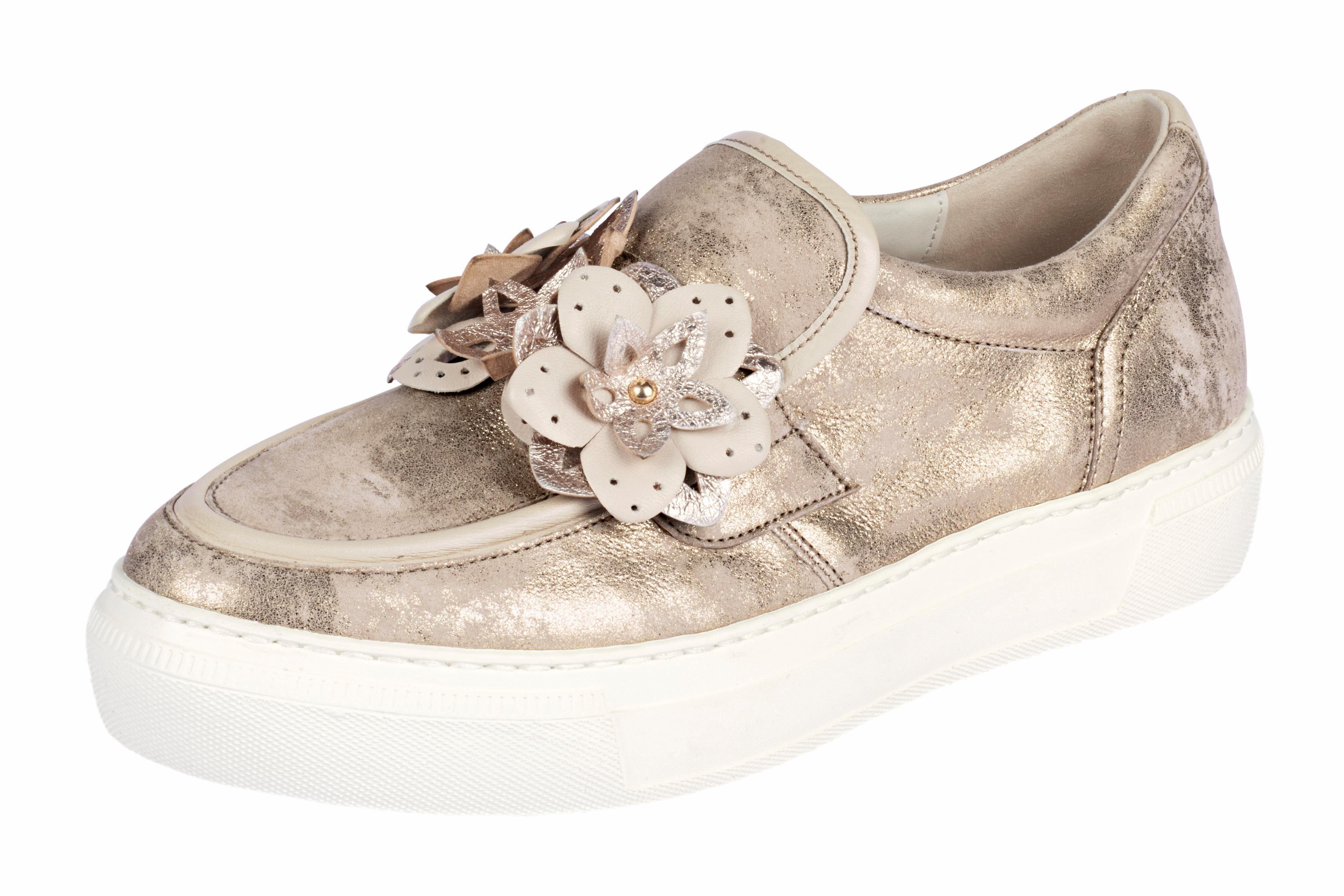Boutique &5668 GABOR GABOR &5668 Slipper mit Blütenapplikation e68345