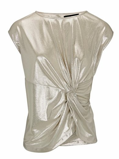 PATRIZIA DINI by Heine Shirttop Metallic-Look