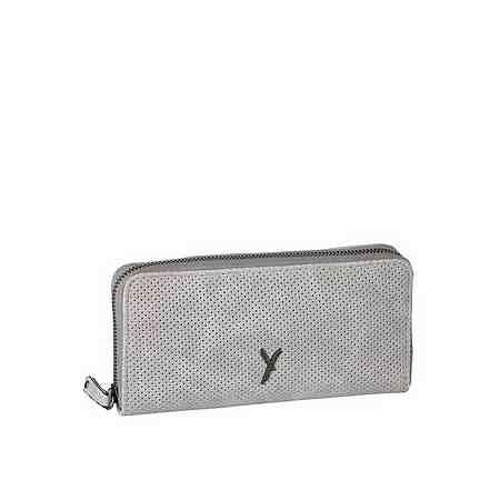 Hier finden Sie farbenfrohe, bedruckte, bestickte, mit Nieten oder anderen Details verzierte Portemonnaies aus Leder oder Textil.