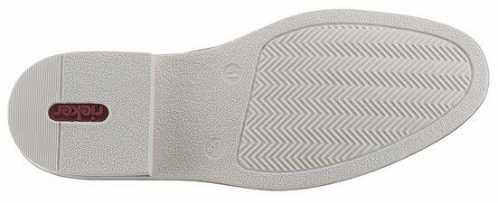 Rieker Slipper, mit weißer Paspelierung