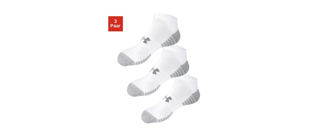 Under Armour® Sneakersocken (3 Paar) mit anatomischer Polsterung Finish Günstig Online In Deutschland Günstigem Preis Spielraum Angebote yPREe