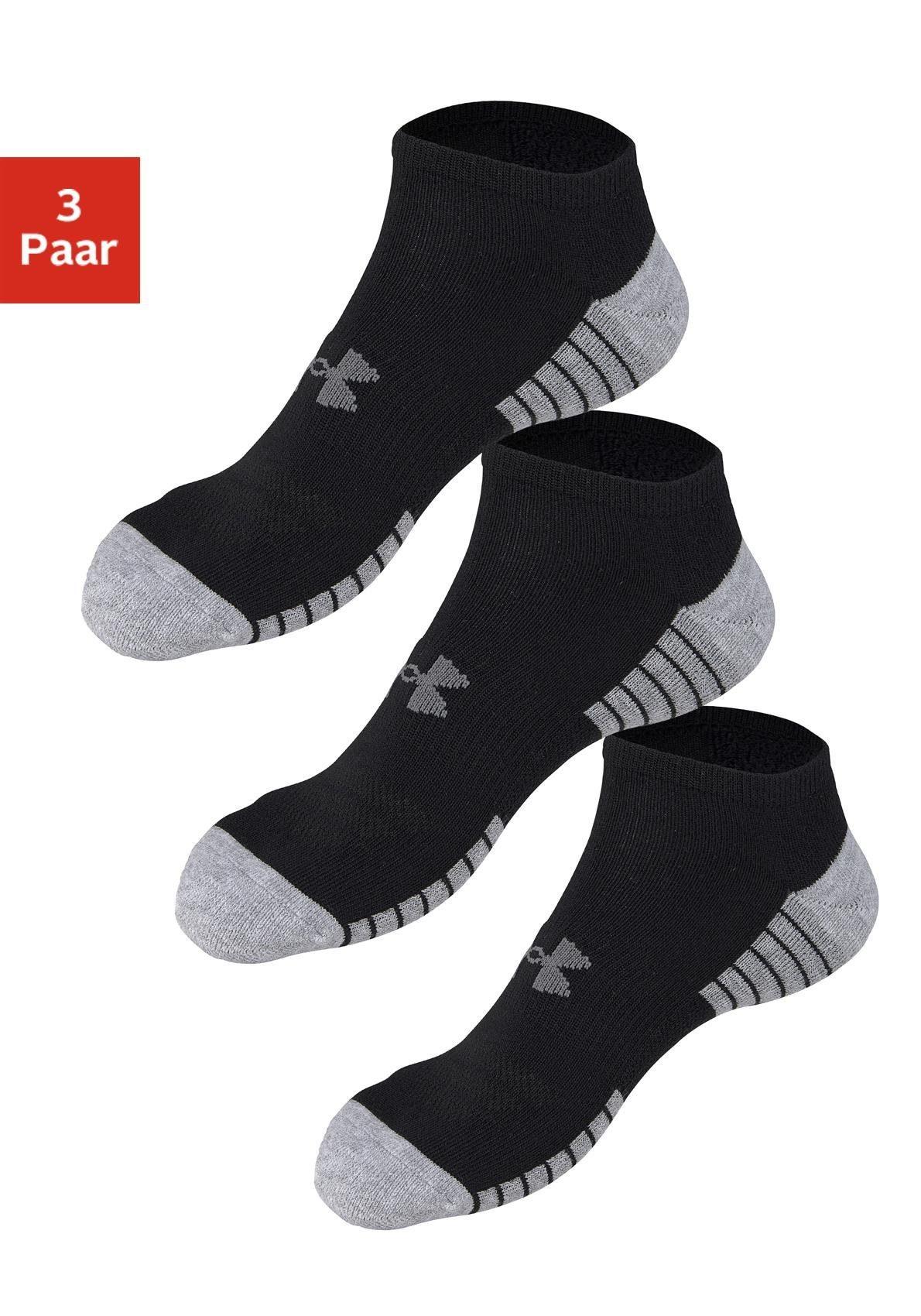 Under Armour® Sneakersocken (3 Paar) mit anatomischer Polsterung
