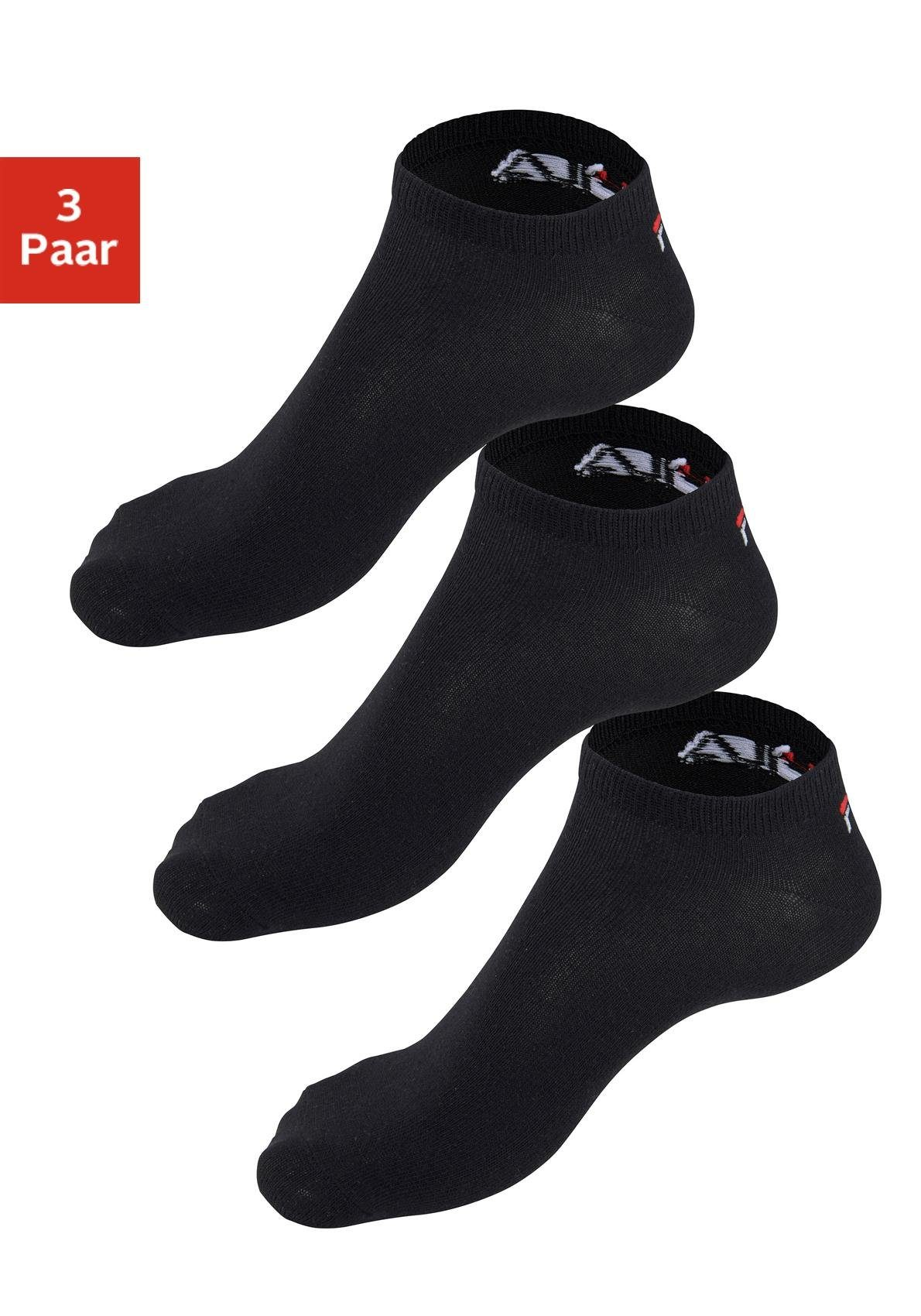 Fila Sneakersocken (3 Paar) mit eingestricktem Logo an der Ferse online kaufen | OTTO