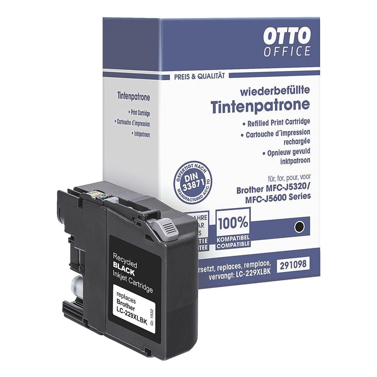 OTTOOFFICE STANDARD Tintenpatrone ersetzt Brother »LC-229XL-BK«