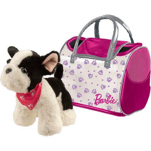 Happy People Barbie Plüsch Hund französische Bulldogge