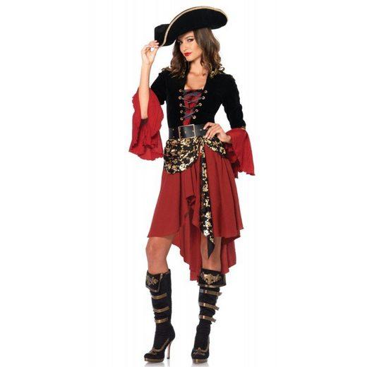 Elegante Piratenlady Marlene Premium Kostüm