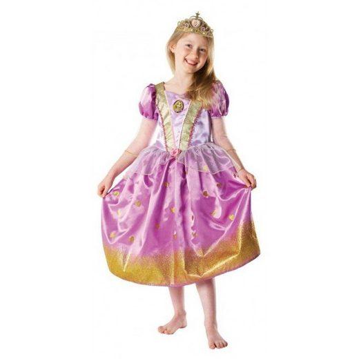 Rapunzel Glitterkleid für Mädchen