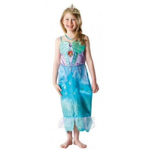 Arielle Kostüm Mädchen mit Diadem
