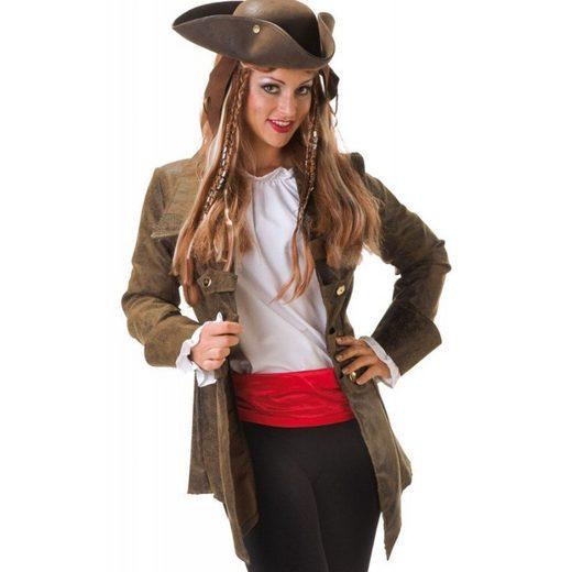 Ellie Piraten Jacke Deluxe für Damen