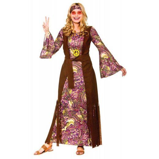 Funky Summer of Love Hippiekostüm für Damen