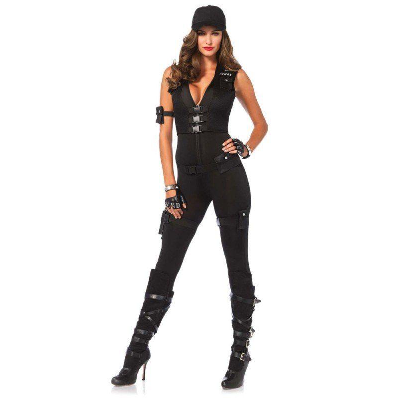SWAT Einsatzleiterin Damenkostüm Deluxe