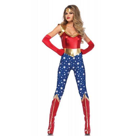 Super Hero Lady Damenkostüm Deluxe