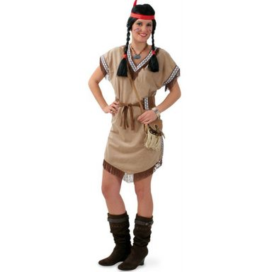 Imala Indianerin Kostüm für Damen