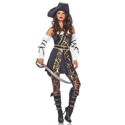 Der Schwarzen Kostüm Deluxe Piratin Meere YbfIy76gv