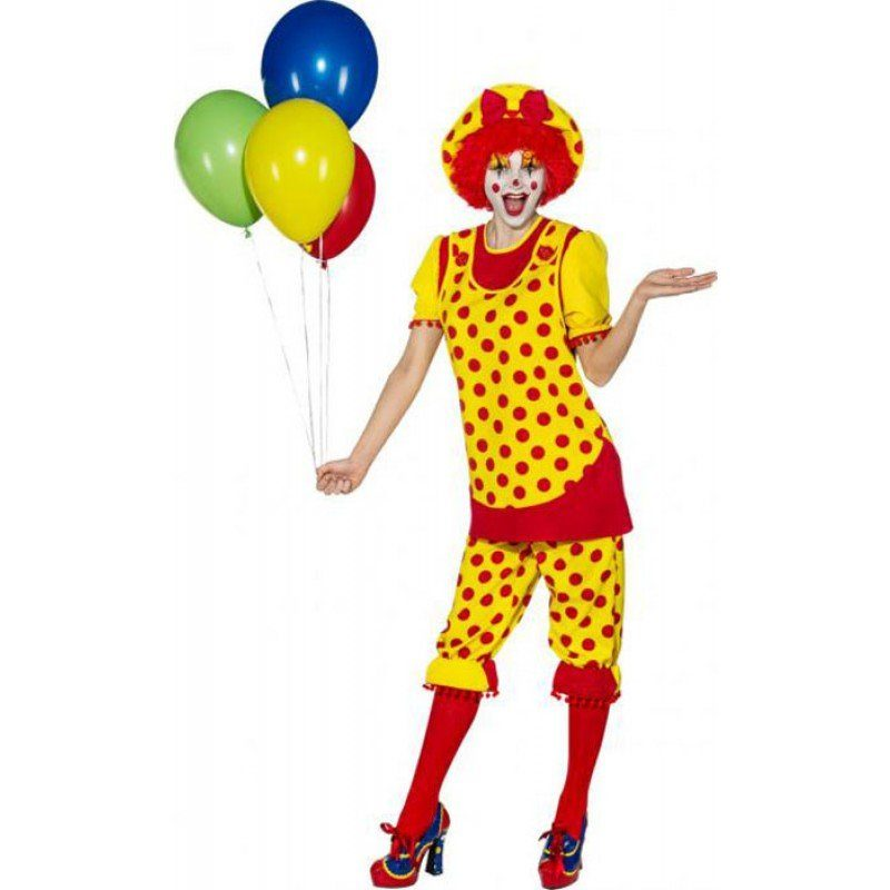 Pippa Li-La-Laune Clown Damenkostüm
