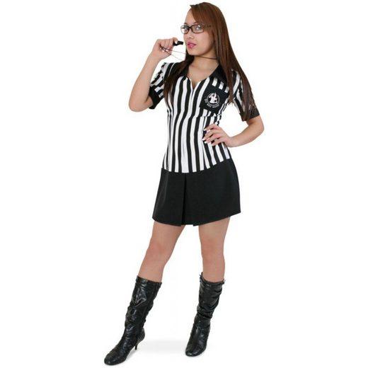 Sporty Schiedsrichterin Kostüm für Damen