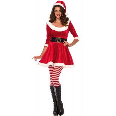 Santas Miss Damenkostüm Deluxe