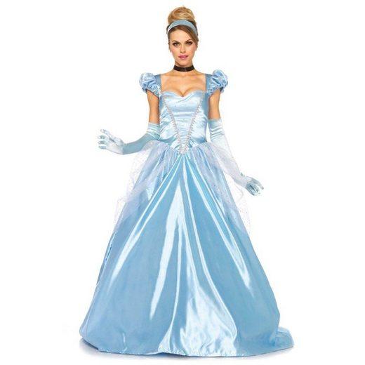 Bezaubernde Winterprinzessin Kostüm Deluxe