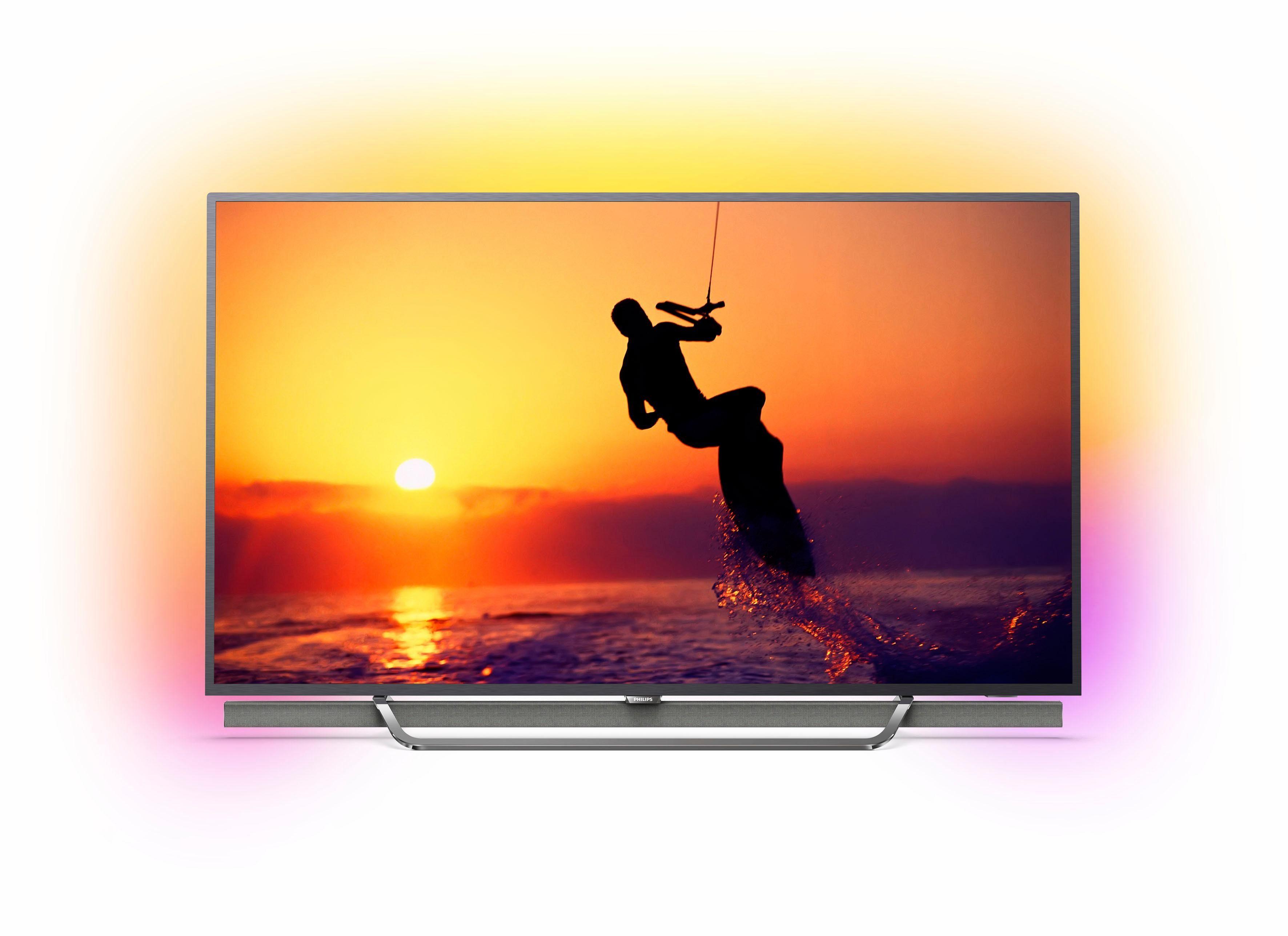 Philips 55PUS8602/12 LED-Fernseher (139 cm/55 Zoll, 4K Ultra HD, Smart-TV, Quantum Dot)