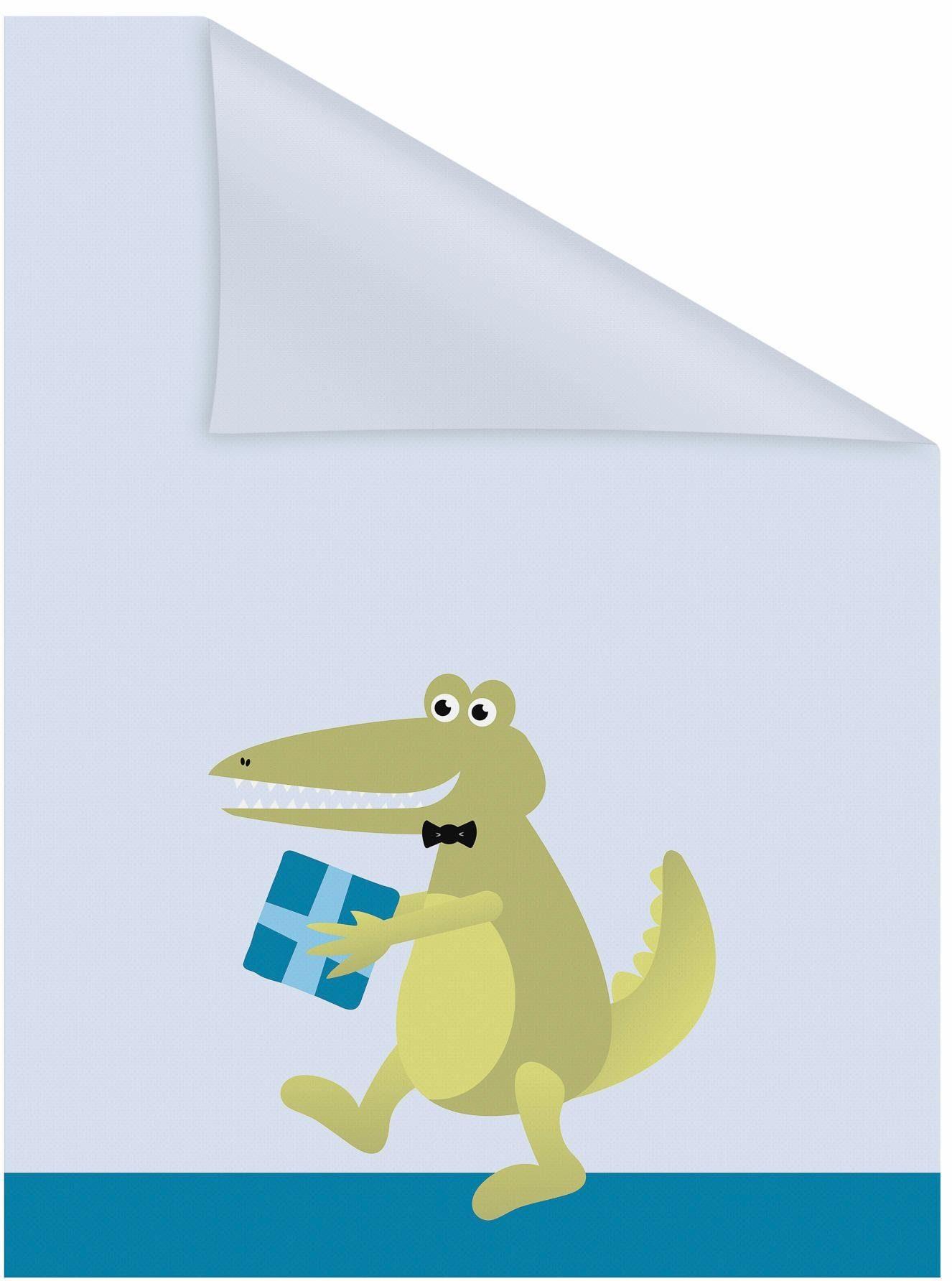 Fensterfolie »Krokodil«, LICHTBLICK, blickdicht, strukturiert, selbstklebend, Sichtschutz