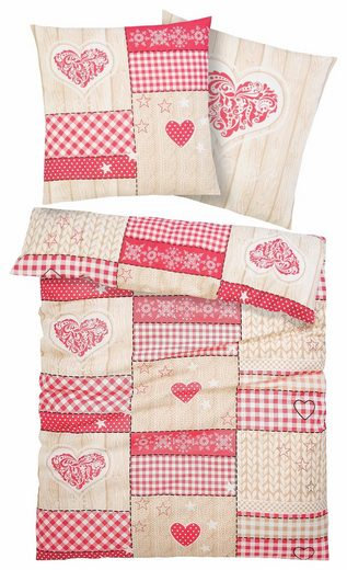 Bettwäsche »Janina«, Home affaire Collection, im Patchwork-Design