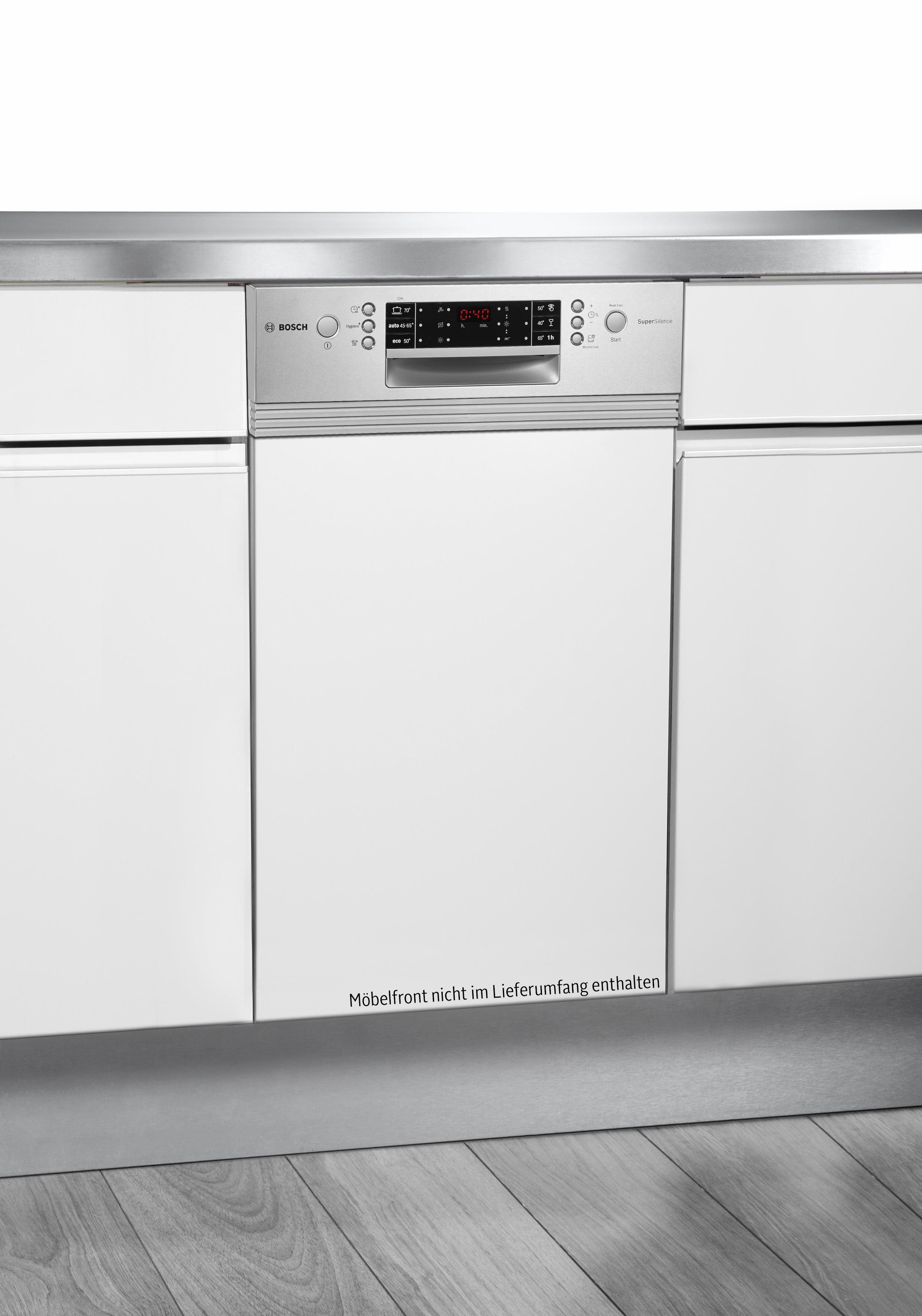 BOSCH teilintegrierbarer Geschirrspüler, SPI66PS00E, 0,85 l, 9 Maßgedecke, Energieeffizienzklasse A++