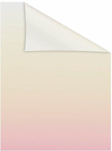 Fensterfolie »Ombre Rosa«, LICHTBLICK, blickdicht, strukturiert, selbstklebend, Sichtschutz