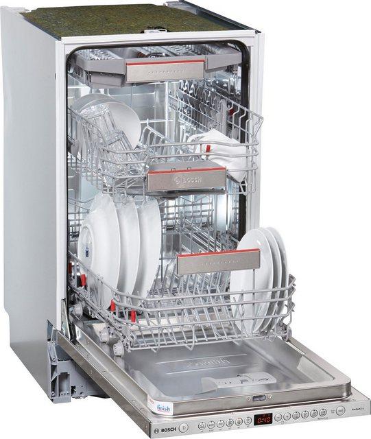 Küchengroßgeräte - BOSCH vollintegrierbarer Geschirrspüler, SPV66TX01E, 9,5 l, 10 Maßgedecke, 45 cm breit  - Onlineshop OTTO