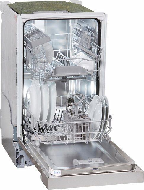 Küchengroßgeräte - BOSCH teilintegrierbarer Geschirrspüler, SPI25CS03E, 0,85 l, 9 Maßgedecke, 45 cm breit  - Onlineshop OTTO