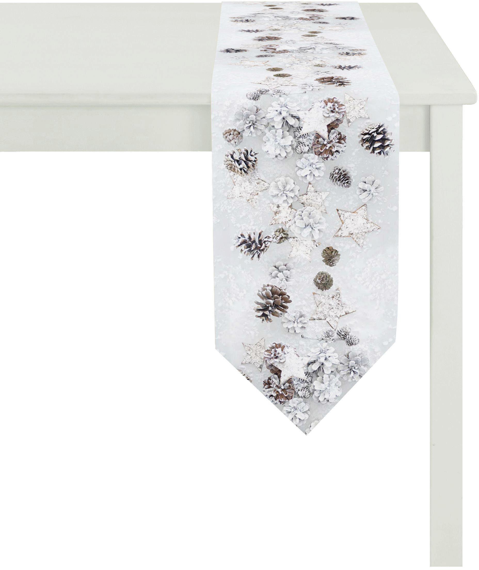 Apelt Apelt Tischband 25x175 cm, »4692 Winterwelt«