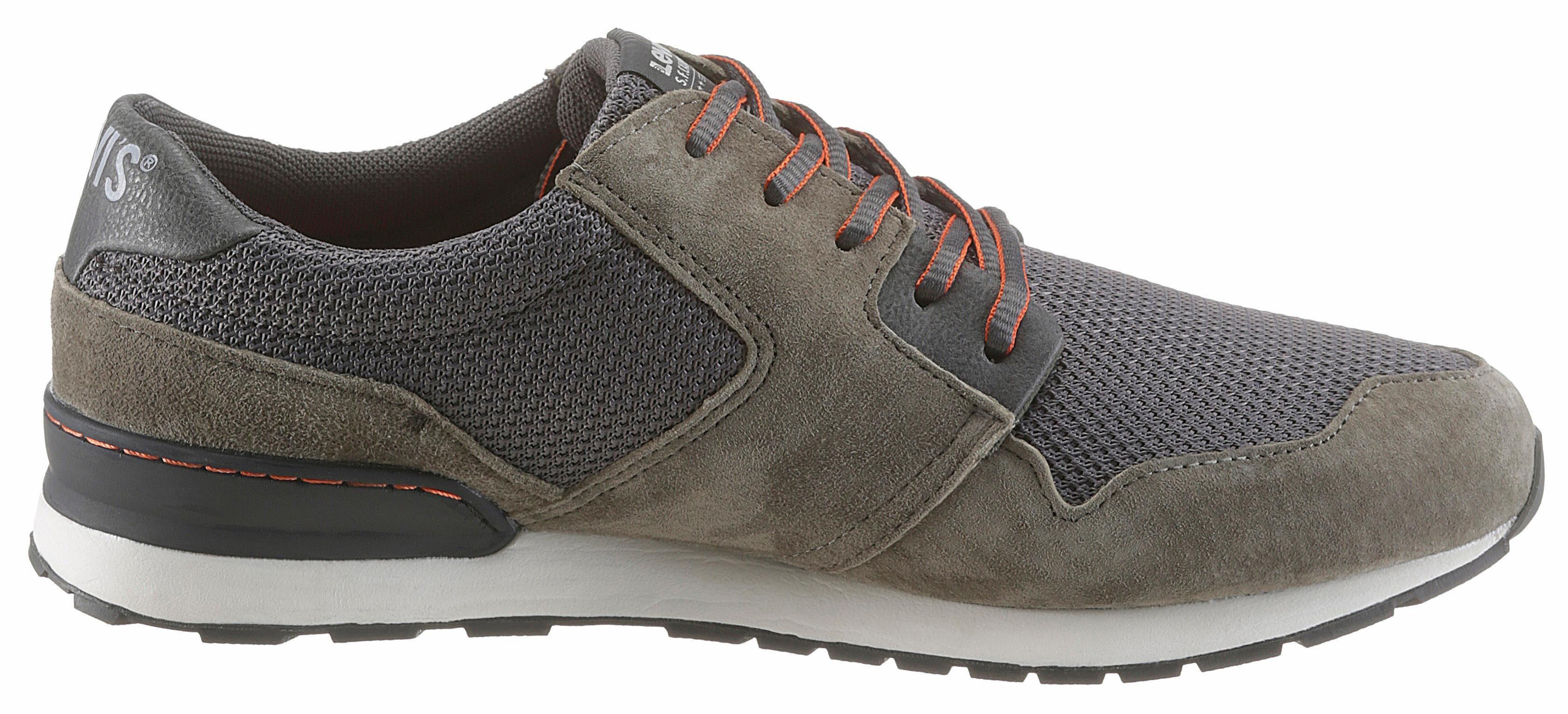 Levi's® NY Runner II Sneaker, im stylischen Materialmix online kaufen  khaki