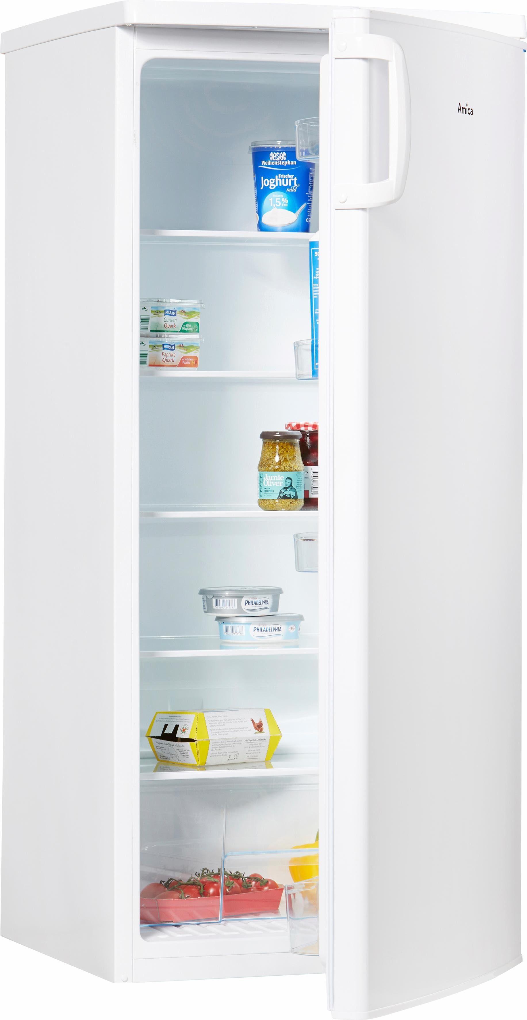 Amica Kühlschrank VKS 15405 W, 125,2 cm hoch, 54,6 cm breit, A++, 125,2 cm hoch