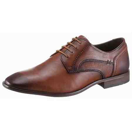 Für den schnellen Aufstieg: Edle Бизнес -Schuhe hochwertig verarbeitet.