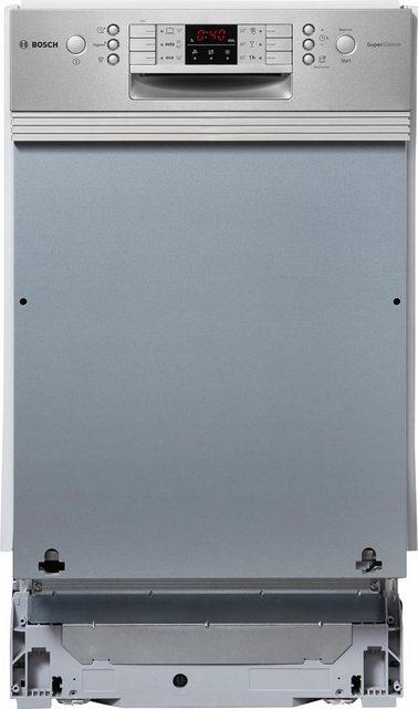 Küchengroßgeräte - BOSCH teilintegrierbarer Geschirrspüler, SPI46IS01E, 0,85 l, 9 Maßgedecke, 45 cm breit  - Onlineshop OTTO