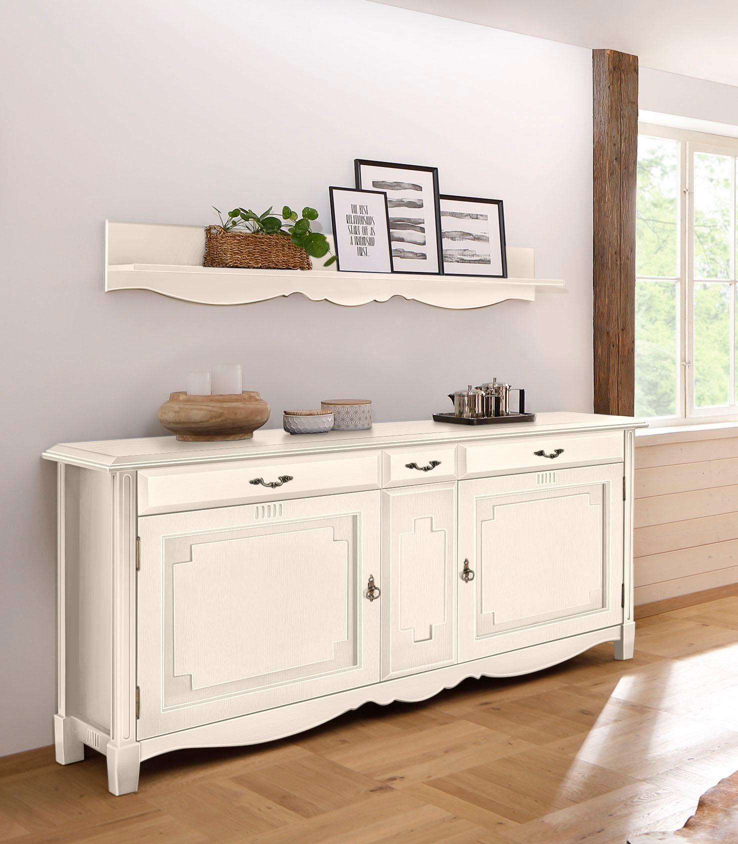Home affaire Sideboard »Eden«, Breite 197 cm, mit Soft-close Funktion